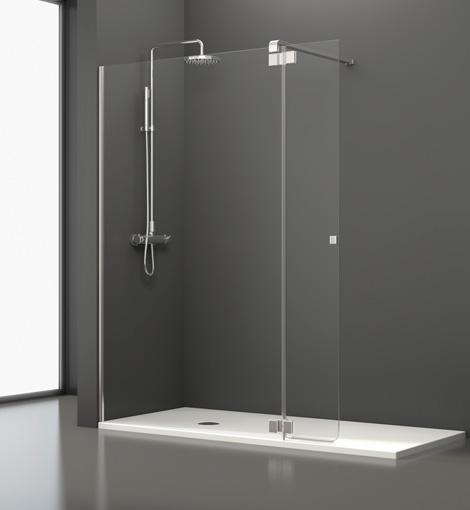 Miranda aluminios carpinter a met lica - Mamparas abatibles para ducha ...