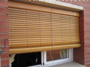 Persiana de madera exterior dise os arquitect nicos - Persianas alicantinas ...