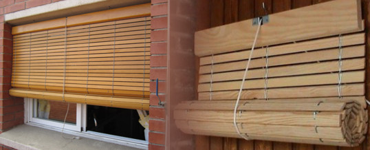 Miranda aluminios carpinter a met lica - Estores para balcones ...