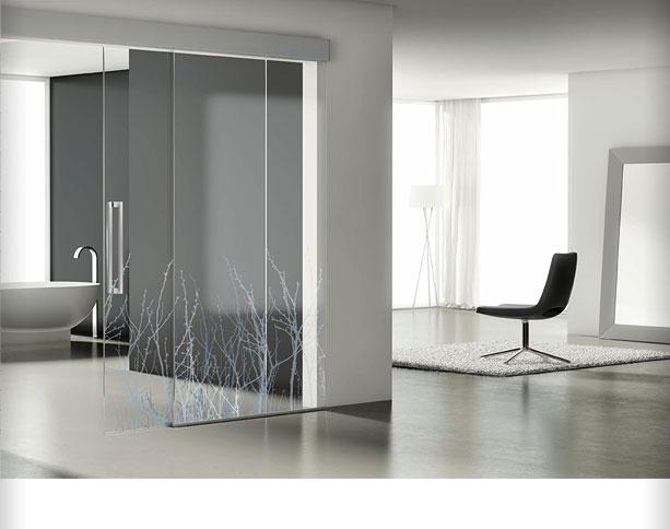 Miranda aluminios carpinter a met lica - Puertas de paso de cristal ...